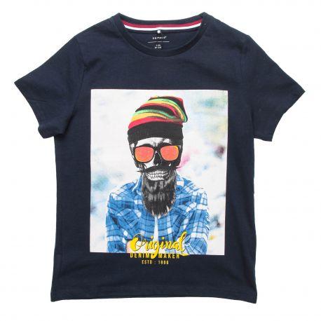 Tee shirt manches courtes imprimé personnage Enfant NAME IT marque pas cher prix dégriffés destockage