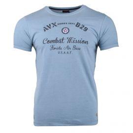 Tee shirt mc ax0331 Homme AVIREX marque pas cher prix dégriffés destockage