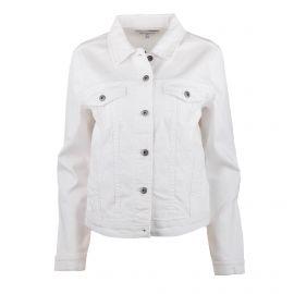 Veste en jean blanc manches longues Femme ONLY marque pas cher prix dégriffés destockage