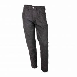 Pantalon habillé gris chiné Homme SELECTED marque pas cher prix dégriffés destockage