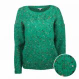 Pull manches longues chiné col rond Femme BEST MOUNTAIN