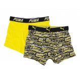 Lot 2 boxers confort coton stretch Homme PUMA