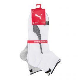 Lot de 2 paires de chaussettes white/grey t39 au 46 Homme PUMA