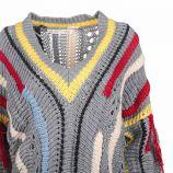 Pull manches longues laine col V Femme CARE OF YOU marque pas cher prix dégriffés destockage