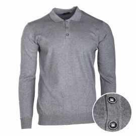 Pull col polo coudiere 30% cachemire 847 Homme REAL CASHMERE