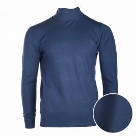 Pull col roule coudiere 30% cachemire 846 Homme REAL CASHMERE
