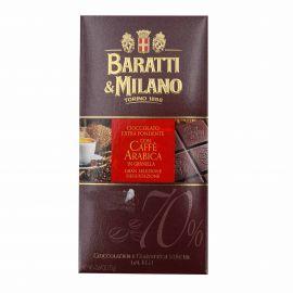 TABLETTE CHOCOLAT NOIRE CAFE ARABICA