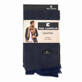 Echarpe 70x190 titus Homme TED LAPIDUS marque pas cher prix dégriffés destockage