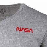 Tee shirt mc col v basic worm colour Homme NASA marque pas cher prix dégriffés destockage