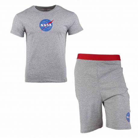 Pyjama court big ball Homme NASA marque pas cher prix dégriffés destockage