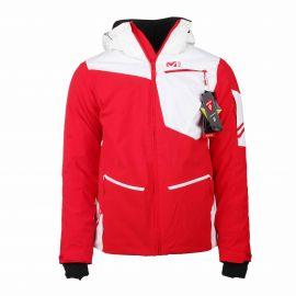 Veste ski Austria blanc rouge Primaloft Dryedge Homme MILLET marque pas cher prix dégriffés destockage