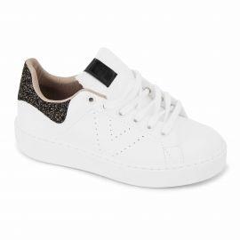 Baskets white/black t36-t41 1260139 Femme VICTORIA marque pas cher prix dégriffés destockage