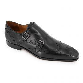 Mocassins cuir noir t39-t46 65706 Homme MEN'S VINTAGE marque pas cher prix dégriffés destockage