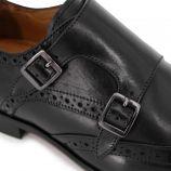 Mocassins cuir noir 65706 Homme MEN'S VINTAGE marque pas cher prix dégriffés destockage