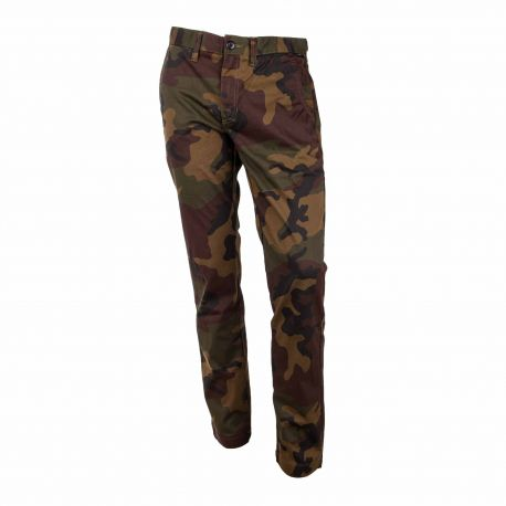 Pantalon chino camouflage Homme Draft VANS marque pas cher prix dégriffés destockage