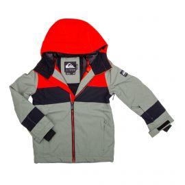 Veste de ski 3101 kaki Enfant QUIKSILVER marque pas cher prix dégriffés destockage