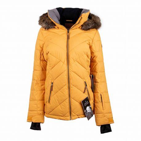 Veste de ski 3227 moutarde Femme ROXY marque pas cher prix dégriffés destockage