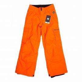 Pantalon ski 3009 orange Enfant DC SHOES marque pas cher prix dégriffés destockage