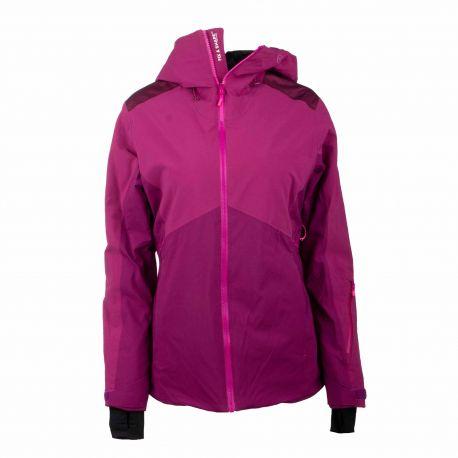 Veste de ski 4104 purple Femme EIDER marque pas cher prix dégriffés destockage