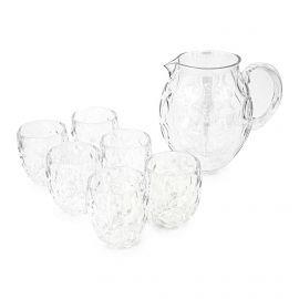 Set carafe + 6 verres 28816900 Mixte GUZZINI marque pas cher prix dégriffés destockage