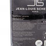 Drap housse percale 90x190 Mixte JEAN-LOUIS SCHERRER marque pas cher prix dégriffés destockage