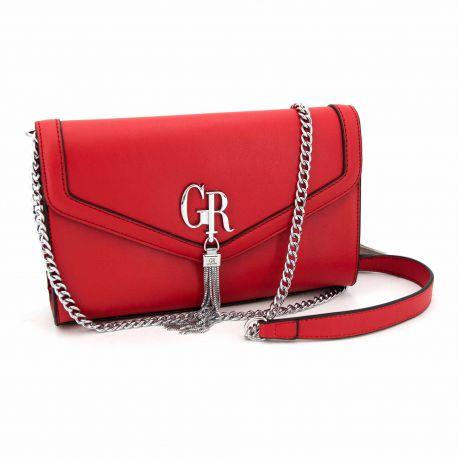 Sac bandouliere halya rouge grs20130861 Femme GEORGES RECH à prix