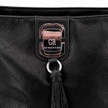 Sac porte epaule odelya noir gra18042 Femme GEORGES RECH marque pas cher prix dégriffés destockage