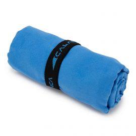 Serviette microfibre bleu 60x120cm FRENDO marque pas cher prix dégriffés destockage