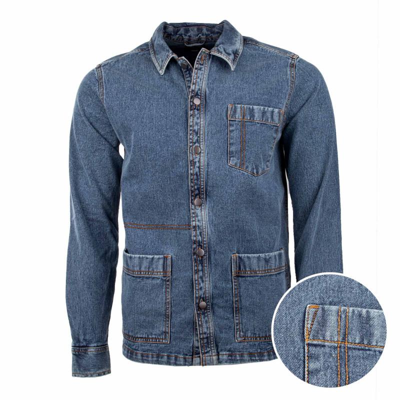 Surchemise en jeans 22017282 Homme ONLY AND SONS marque pas cher prix dégriffés destockage