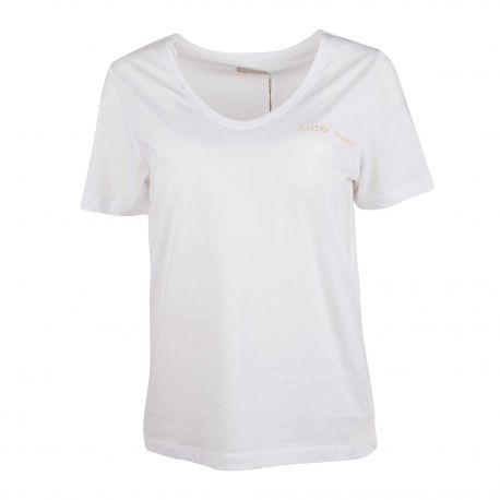 Tee-shirt mc 17104956 Femme PIECES marque pas cher prix dégriffés destockage