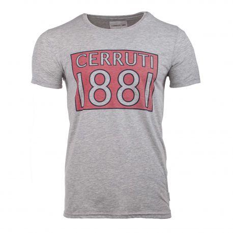 T shirt col r perugia cerruti 8637 Homme CERRUTI marque pas cher prix dégriffés destockage