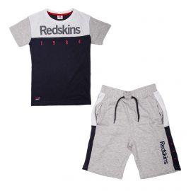 Ensemble tee-shirt mc+bermuda set300 de 6 a 12 ans Enfant REDSKINS