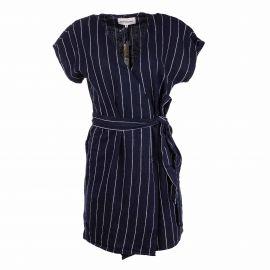 Robe mc en lin rbs2018f Femme BEST MOUNTAIN marque pas cher prix dégriffés destockage