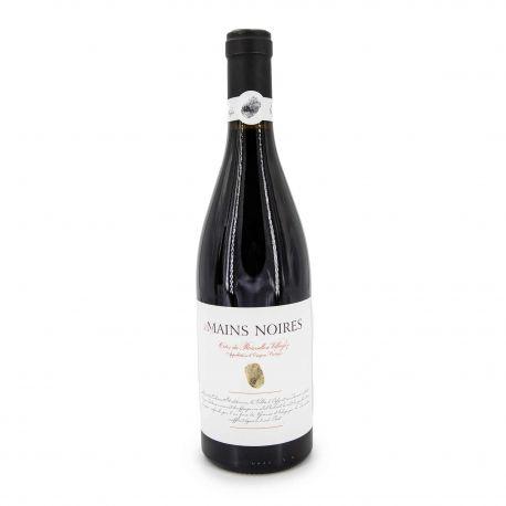 Vin rouge AOP COTES DU ROUSSILLON ROUGE 2018 LES MAINS NOIRES 14.5% 75CL