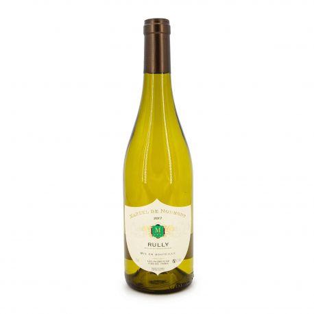 """Vin blanc AOP RULLY 2017 """"MARCEL DE NORMONT"""" 75CL 12.5%"""