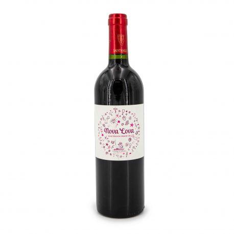 Vin rouge AOC Saint Emilion Grand Cru 75 CL 2015 Nova Lova Vignoble Bardet VIGNOBLE BARDET