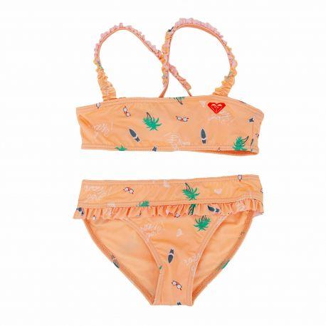 Ensemble de bikini Enfant ROXY marque pas cher prix dégriffés destockage