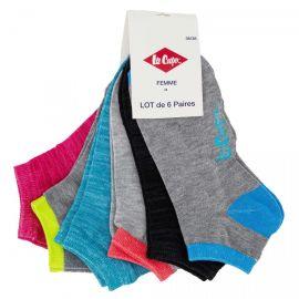 Lot de 6 paires de chaussettes Calia Femme LEE COOPER