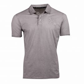 Polo light grey marly 1325 Homme WATTS marque pas cher prix dégriffés destockage