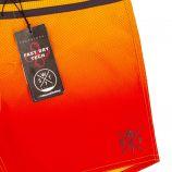 Maillot de bain Boardshort allover carbon red/orange cooll 5529 Homme WATTS marque pas cher prix dégriffés destockage