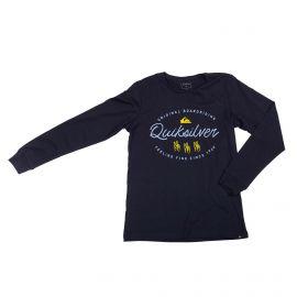 Tee shirt ml Enfant QUIKSILVER marque pas cher prix dégriffés destockage