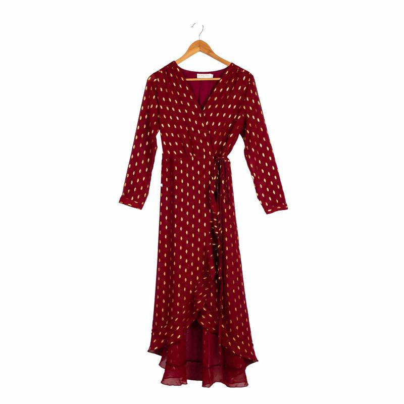 Robe longue mangano Femme LA PETITE ETOILE marque pas cher prix dégriffés destockage