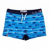 Maillo de bain bleu motif requins Enfant LITTLE MARCEL