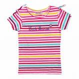 Tee shirt rayé multicolore manches courtes coton stretch Enfant LITTLE MARCEL