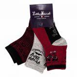 Lot de 3 paires de chaussettes Enfant LITTLE MARCEL