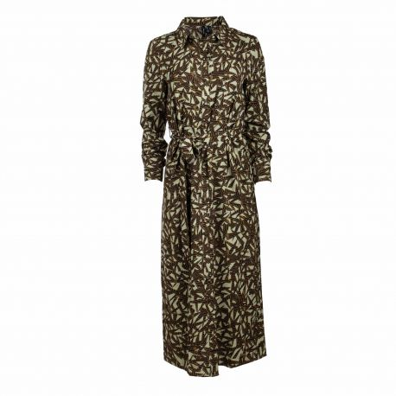 Robe longue ml oil green 10247814 Femme VERO MODA