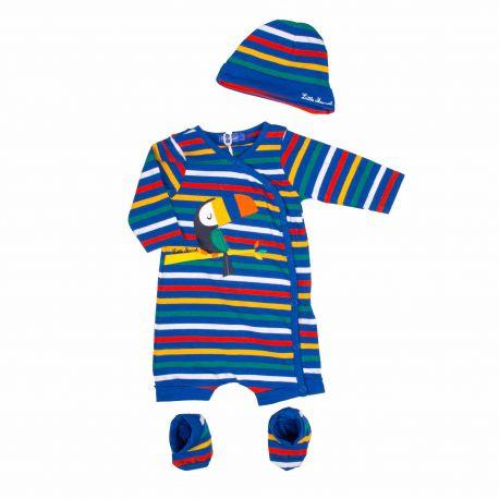 Ensemble body/chaussettes/bonnet Enfant LITTLE MARCEL