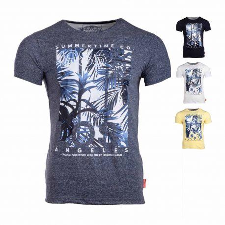 Tee shirt imprime assor 24 marsical Homme BLAGGIO
