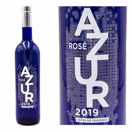 Vin rosé AOP Côtes de Provence 75cl 2019 Azur