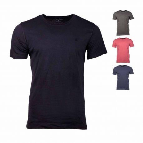 Tee-shirt mc 12175520 Homme JACK & JONES marque pas cher prix dégriffés destockage